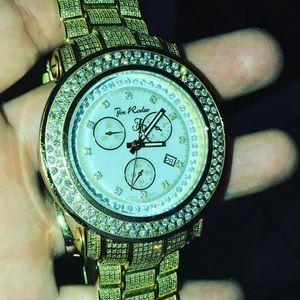 Men's Joe Rodeo Junior Diamond Watch 14.75 carats